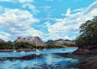 Bishops Bay Loch Leven