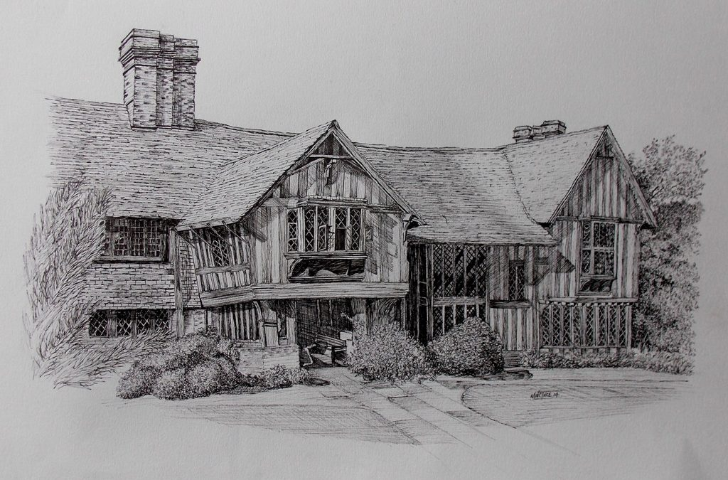 Next Step Pen & Ink Drawing Holiday in Selworthy, Exmoor 26th to 29th April 2019