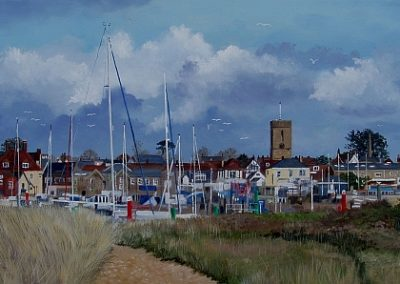 Yarmouth from Sandhard