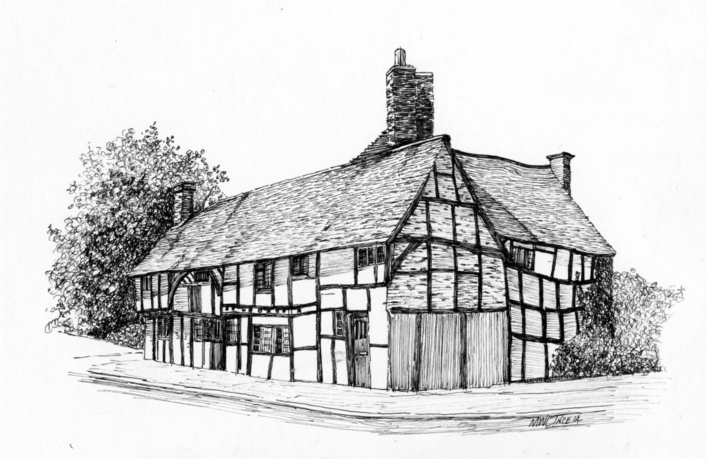 4 Night Pen & Ink Drawing Holiday in the Shropshire Hills – Church Stretton (Longmynd) with HF Holidays – November 25th to 29th 2019