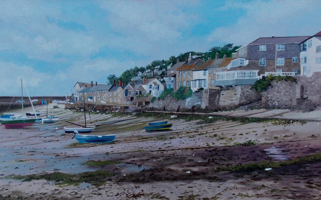 Sketching and Painting Holiday in Wadebridge, Cornwall with ALPHA Holidays June 21st to 25th 2020